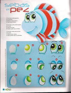 Great site for painting all types of cartoon eyes.