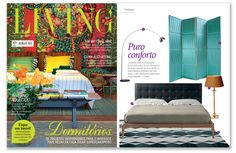 Munna | Living Brasil | July 2014 HIGHLIGHTS: Hide and Seek | Folding Screen http://www.munnadesign.com/en/collection-fetiche/hide-and-seek-4-panel #munnadesign #hideandseekfoldingscreen #foldingscreen #roomdivider