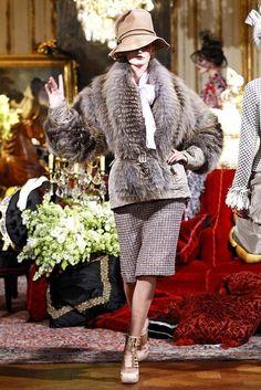 Неделя моды в Париже: John Galliano Fall 2011