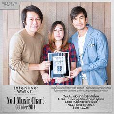 """แล้วเราจะได้รักกันไหม เพลงประกอบละคร """"The Rising Sun"""" โดย หนึ่ง ณรงค์วิทย์ ขับร้องโดย ณเดชน์ คูกิมิยะ และ ญาญ่า อุรัสยา กับรางวัล IW Music Award เพลงไทยสากลที่ได้รับความนิยมอันดับที่ 1 ประจำเดือนตุลาคม 2557 ยินดีด้วยครับ (ผลวิจัยโดย IW จากสถานีวิทยุ 40 FM radio station ในกรุงเทพและปริมณฑล) #intensivewatch #iw #chart #update #music #bangkok #thailand"""
