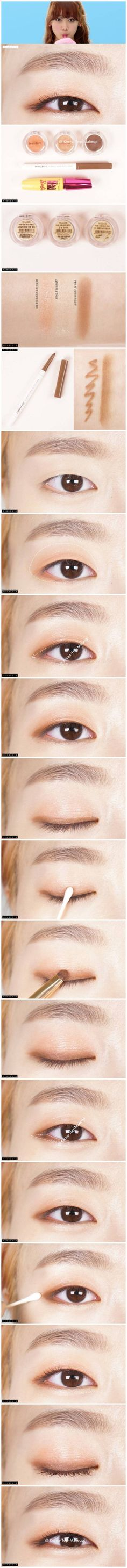 Korean style make up #make up #idea
