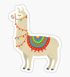 Llama stickers featuring millions of original designs created by independent artists. Alpacas, Llama Drawing, Tumblr Png, Alpaca Gifts, Cute Laptop Stickers, Llama Alpaca, Tumblr Stickers, Aesthetic Stickers, Printable Stickers