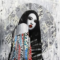 """Hush's """"Muse"""" at Metro Gallery in Melbourne, Australia. Opening May 23rd, 2015 at Metro Gallery in Melbourne, Australia is UK artist Hush's """"Muse,"""" a solo show of his brand new, epic street art..."""