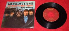 THE ROLLING STONES - LET`S SPEND THE NIGHT TOGERTHER + RUBY TUESDAY 12  VINYL