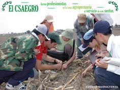 El CSAEGRO forma profesionales en la rama agropecuaria al servicio de este sector. SAGARPA SAGARPAMX #SOMOSPRODUCTORES