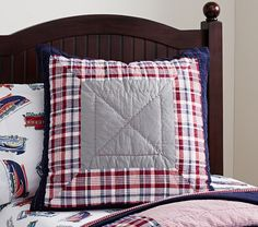 Emmett Quilted Bedding | Pottery Barn Kids