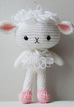 Amigurumi lamb - $
