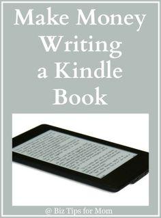 Make Money Writing a Kindle Book  #kindle #author #writing #publish