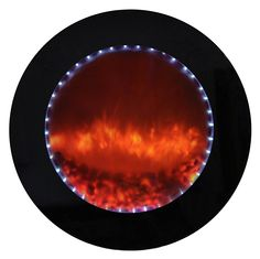 DF-LED800-W Electric Fireplace from Yosemite Home Decor.  When the flame is turned off it looks like a mirror. www.yosemitehomedecor.com