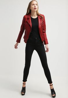 Oakwood Chaqueta de cuero red. Oakwood Chaqueta de cuero red