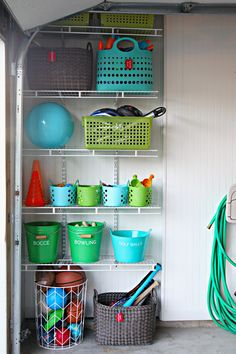 Plastic storage with colour More
