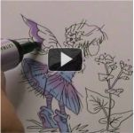 How to Blend Two Differrent Colours Using Promarkers