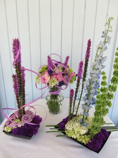 Spring floral designs by Sharon Ivey, AIFD