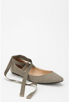 Kimichi Blue Sweetheart Ankle Tie Skimmer