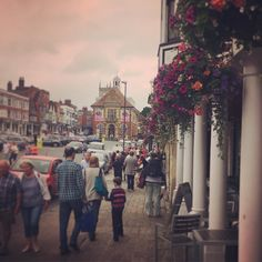 #marlborough High St on #marlboroughjazzfestival weekend