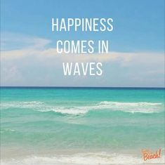 Cannot WAIT!!!!! Beach Life Quotes, Sea Quotes, Summer Quotes, Funny Beach Quotes, Ocean Wave Quotes, Somewhere On A Beach, Beautiful Beach Pictures, Sea Waves, Beach Scenes