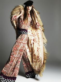 Print Princess | Lisa Akesson  for #Elle Greece October 2011  #fashion #photography by Dimitris Skoulos