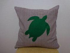 Capa de almofada tartaruga.