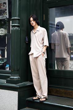 Cho Yongkwon, Street Fashion 2017 in Seoul