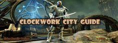Elder Scrolls Online Adventure Guide of the Clockwork City