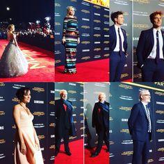 Mockingjay Part 2 cast at the LA premiere