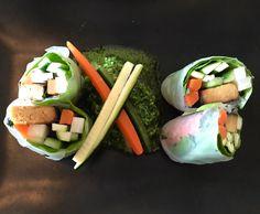 RECEPT!   Deze rolletjes zijn heerlijk als zomerse snack.   Wil jij deze rolletjes van rijstpapier gevuld met veggies ook zelf maken? Lees het recept in de blog.