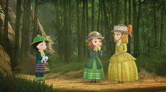 """Jun, Sofia, and Amber (from """"Princesses to the Rescue"""")"""
