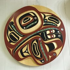 Eagle panel in yellow cedar by Moy sutherland