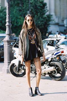 Vanessa Jackman: Paris Fashion Week SS 2015....Gizele