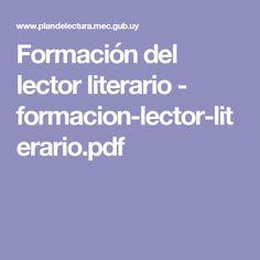 Formación del lector literario - formacion-lector-literario.pdf
