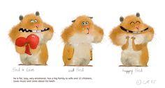 Fed the hamster ~Wiebke Rauers