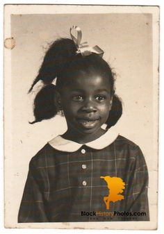 Vintage African American Photo Young Girl School Picture Old Black History Americana.  https://blackhistoryphotos.com/collections/vintage-1940-present-photos-african-american