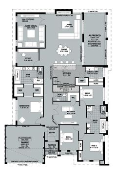 No clue how this Australian company's floorplan relates to Chicago, but it's not a bad plan at all...... Aveling Luxury Collection presents The Chicago - Floorplan