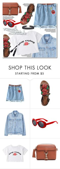 """""""Rock attitude"""" by paculi ❤ liked on Polyvore featuring Kate Spade, MANGO and Rebecca Minkoff"""