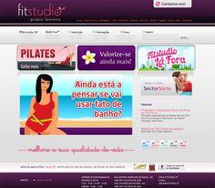 Fitstudio - Website made by WebComum #website #webdesign