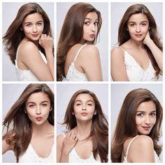 for Maybelline . Bollywood Heroine, Bollywood Actress, Portrait Photography Poses, Portraits, Aalia Bhatt, Shraddha Kapoor Cute, Alia Bhatt Cute, Alia And Varun, Ombre Hair Color