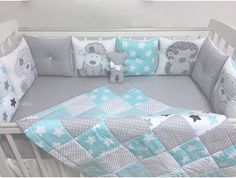 New Baby Boy Blankets Diy Crib Bedding Ideas Baby Bedroom, Baby Boy Rooms, Baby Room Decor, Baby Boy Blankets, Baby Pillows, Quilt Baby, Baby Bedding Sets, Crib Bedding, Bed Cover Design