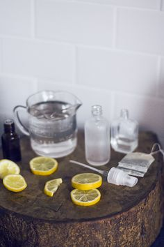 DIY Skin-Clearing Face Mist