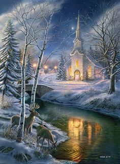 O Holy Night Puzzle with Hidden Images | 1500 Piece Puzzles | Vermont Christmas…