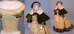 "18"" Smiling Poupee By Louis Doleac C. 1882 With Bisque Arms, Shop from kathylibratysantiques on Ruby Lane"