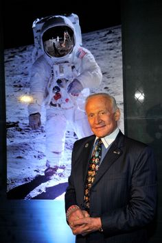 Buzz Aldrin attends the OMEGA And Vanity Fair Celebration of the 45th Anniversary of the Apollo 11 Moon Landing with Buzz Aldrin at the launch of the OMEGA Speedmaster Professional Apollo 11 Limited Edition Timepiece at the Sheats-Goldstein House on July 16, 2014 in Los Angeles, California.