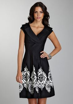 What a great little black dress.