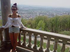 #highwaistedshorts #offtheshoulder #sweater #bigglasses #sockbon #smiles #travel