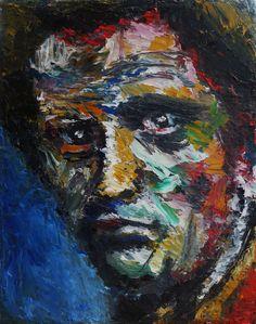 """Portrait of Gert Wollheim, Oil on Canvas 10x8"""", © Copyright 2011 Alan Derwin"""