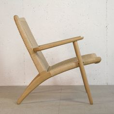 Hans Wegner CH25 Lounge Easy Chair by kapeldesigns on Etsy, $1800.00