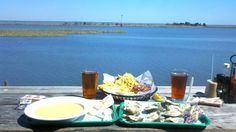 As good as it looks - Up the Creek Raw Bar.