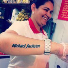 """""""Michael Jackson tatoué sur le bras"""", Feira de São Cristóvão — 2012"""