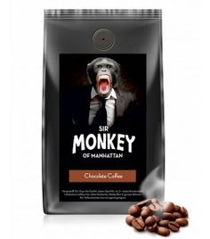 SIR MONKEY OF MANHATTAN Chocolate Kaffee 500 g