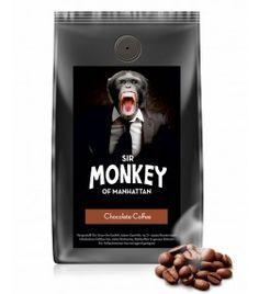 SIR MONKEY OF MANHATTAN Chocolate Kaffee 500 g