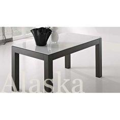 Tavolo Alaska legno vetro 150x90 allungabile 2 d39dbdf13cff